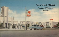 Fort Peck Motel, Mobile Service Station