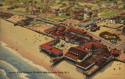 Aerial View Seaside Heights and Seaside Park, N.J.