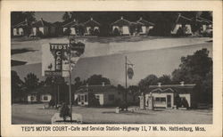 Ted's Motor Court, Cafe and Service Station
