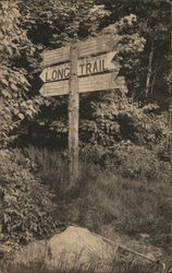 Long Trail Sign at Long Trail Lodge
