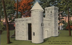 The Castle at Children's Zoo on Mill Mountain
