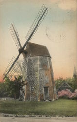 Mill on Memorial Green, East Hampton, Long Island Postcard