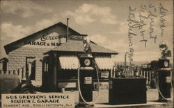 Gus Grevson's Service Station & Garage, Tennent Ave.