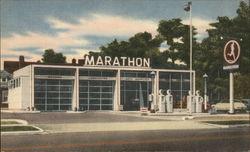 Marathon Service Station