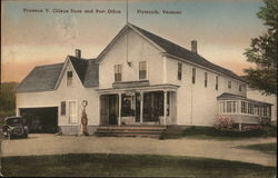 Florence V. CIlleye Store and Post Office Postcard