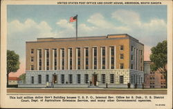 United States Post Office and Court House, Aberdeen, South Dakota