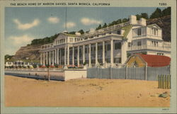 Beach Home of Marion Davies