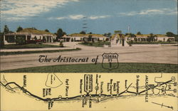 The Aristocrat of Florida US 1 Postcard