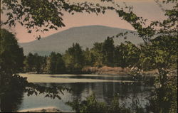 Prentiss Pond and West Mountain