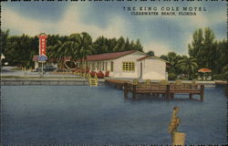 The King Cole Motel Postcard