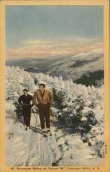 November Skiing on Cannon Mountain