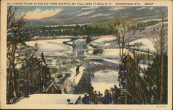 Olympic Ski Hill in the Adirondack Mountains