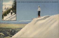Skiing in the Sangre de Cristo Mountains