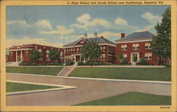 High School, Grade School and Auditorium