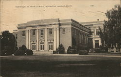 Norwood Jr. High School Postcard