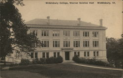 Middlebury College, Warner Science Hall