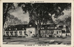 The Pantry, 718 Garden Street Postcard