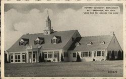 """Howard Johnson's Restaurant """"Look for the Orange Tile Roof"""""""