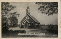 St. Joan d'Arc R.C. Church Postcard