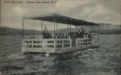 Scott's Show Boat, Oquanga Lake