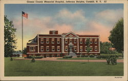 Greene COunty Memorial Hospital, Jefferson Heights, Catskill, N. Y. IC