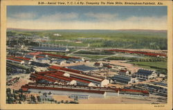 Aerial View of T.C.I & Ry. Company Tin Plate Mills