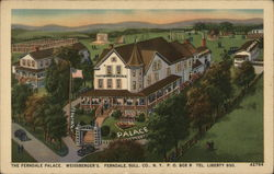 The Ferndale Palace. Weissberger's. Postcard