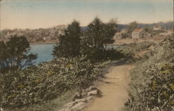 Approaching Perkins Cove Along the Marginal Way