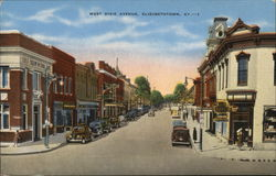 West Dixie Avenue Postcard