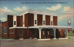 Post Exchange Service Station, Marine Barracks
