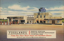 Fossland's Service Station, Restaurant, Cocktail Bar