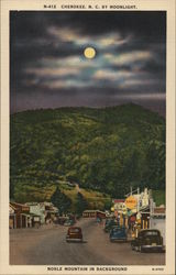 Moonlight View of Noble Mountain