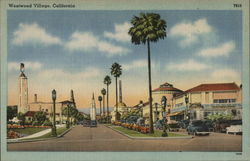 Westwood Village, California