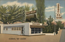 "Corral ""66"" Court and Chuck Wagon"