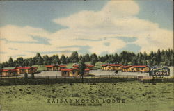 Kaibab Motor Lodge Postcard