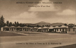Bethel's Tourist Court Postcard