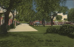 Roxie Motor Court Postcard