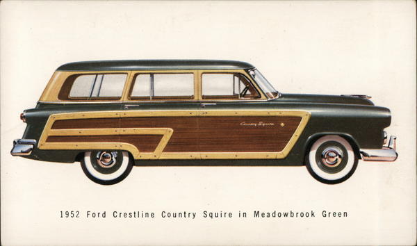 1952 Ford Crestline Country Squire in Meadowbrook Green