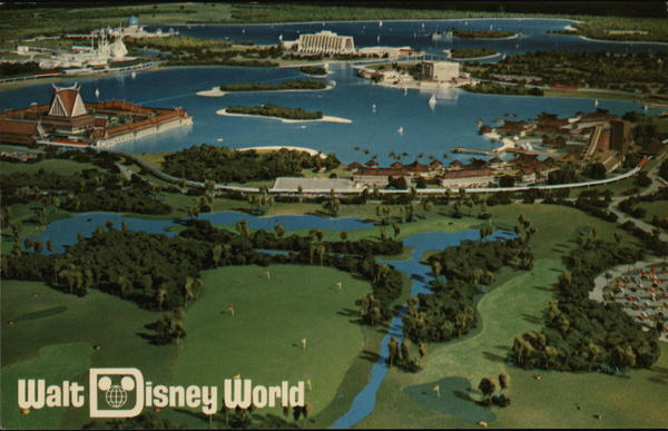 A Complete Desination Resort, Walt Disney World Pre-Opening FL-029 Buena Vista Florida