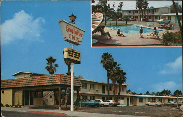 Lamplighter Inn Motel San Diego California