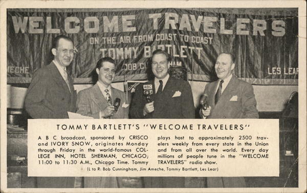 Tommy Bartlett's Welcome Travelers Chicago Illinois