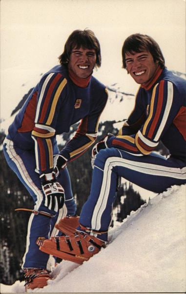 Phil and Steve Mahre, Professional Skiers White Pass Washington