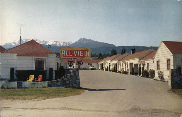 All-View Motel Port Angeles Washington