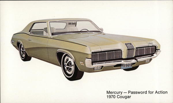 1970 Mercury Cougar Cars