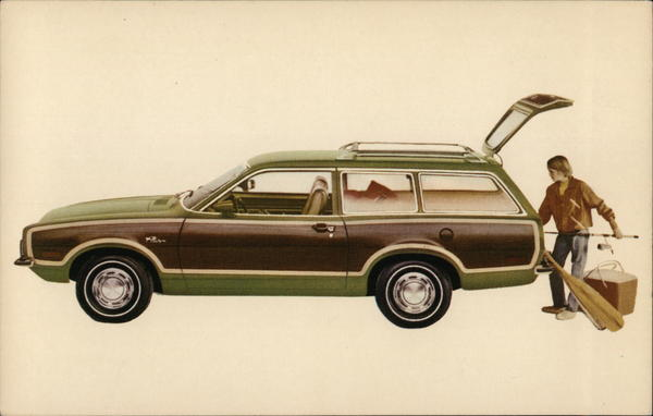 1973 Pinto Squire Station Wagon Cars