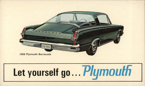 1966 Plymouth Barracuda Cars