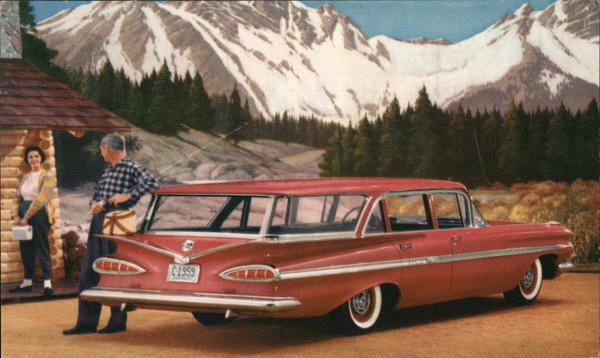 '59 Chevrolet Nomad Station Wagon Cars