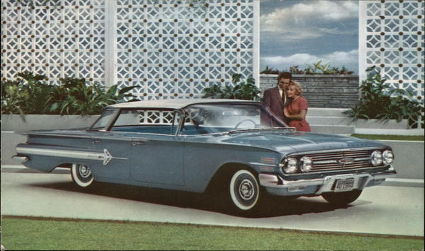 1960 Impala by Chevrolet, 4-Door Sport Sedan Cars