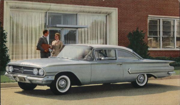 1960 Chevrolet Biscayne Two-Door Sedan Cars