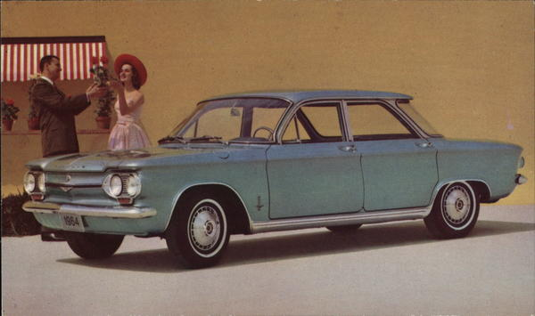 1964 Corvair Monza 4-Door Sedan Cars